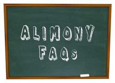 Alimony FAQs